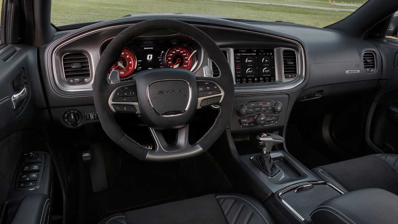 2021 Dodge Charger Hellcat Redeye Interior