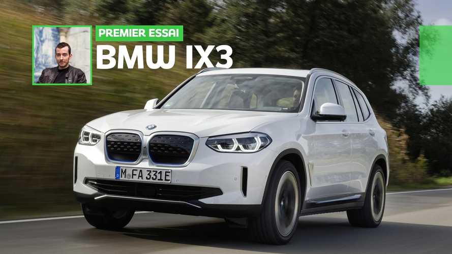 Essai BMW iX3 (2020) - Peut-on partir en week-end avec ?