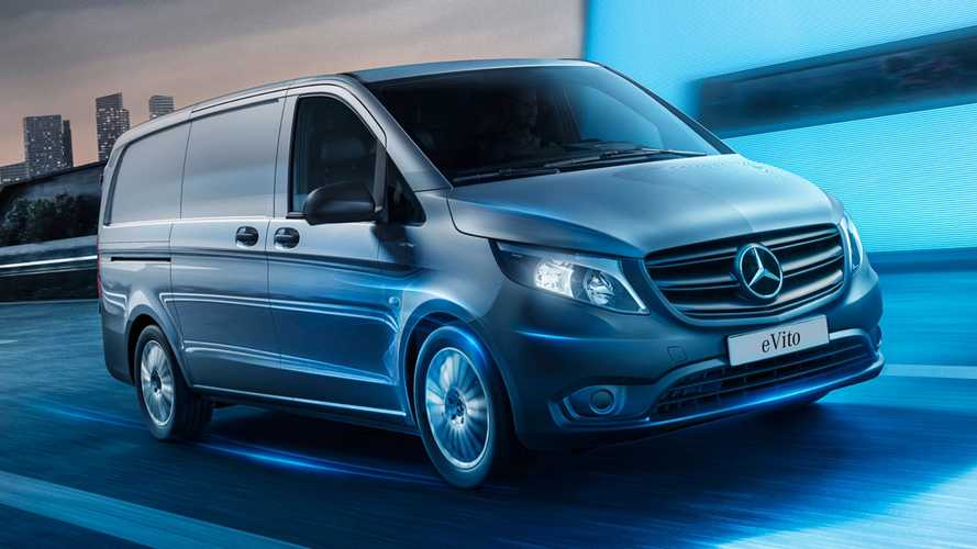 Mercedes upgrades electric eVito van for 2021