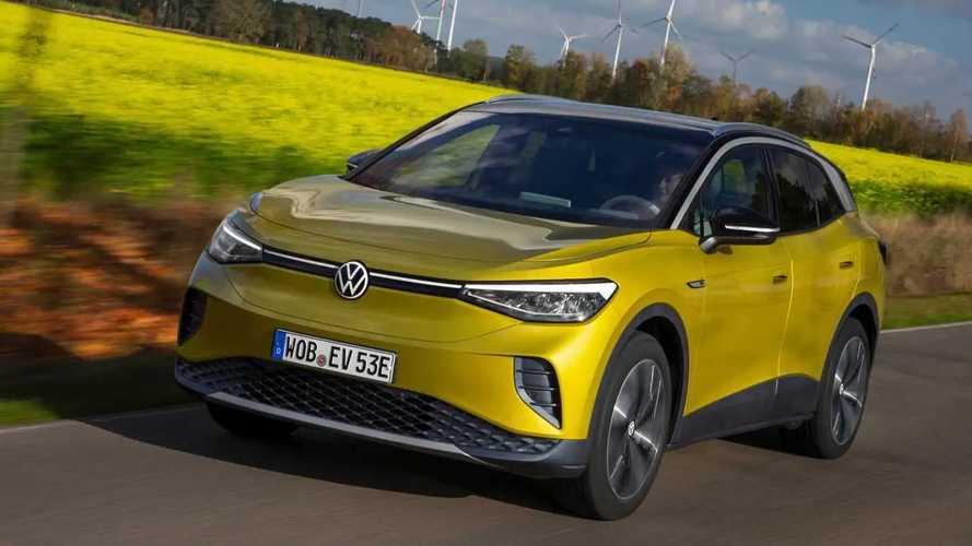 VW ID.4 war im April 2021 das meistverkaufte E-Auto in Europa