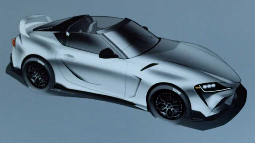 Toyota teases GR Supra Sport Top Edition with removable roof