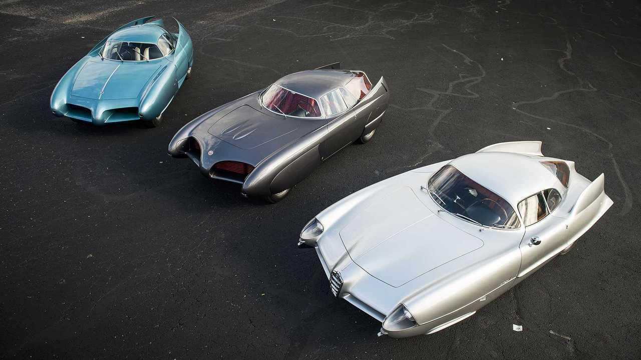 Alfa Romeo B.A.T. 5, 7 e 9 par Bertone all'asta