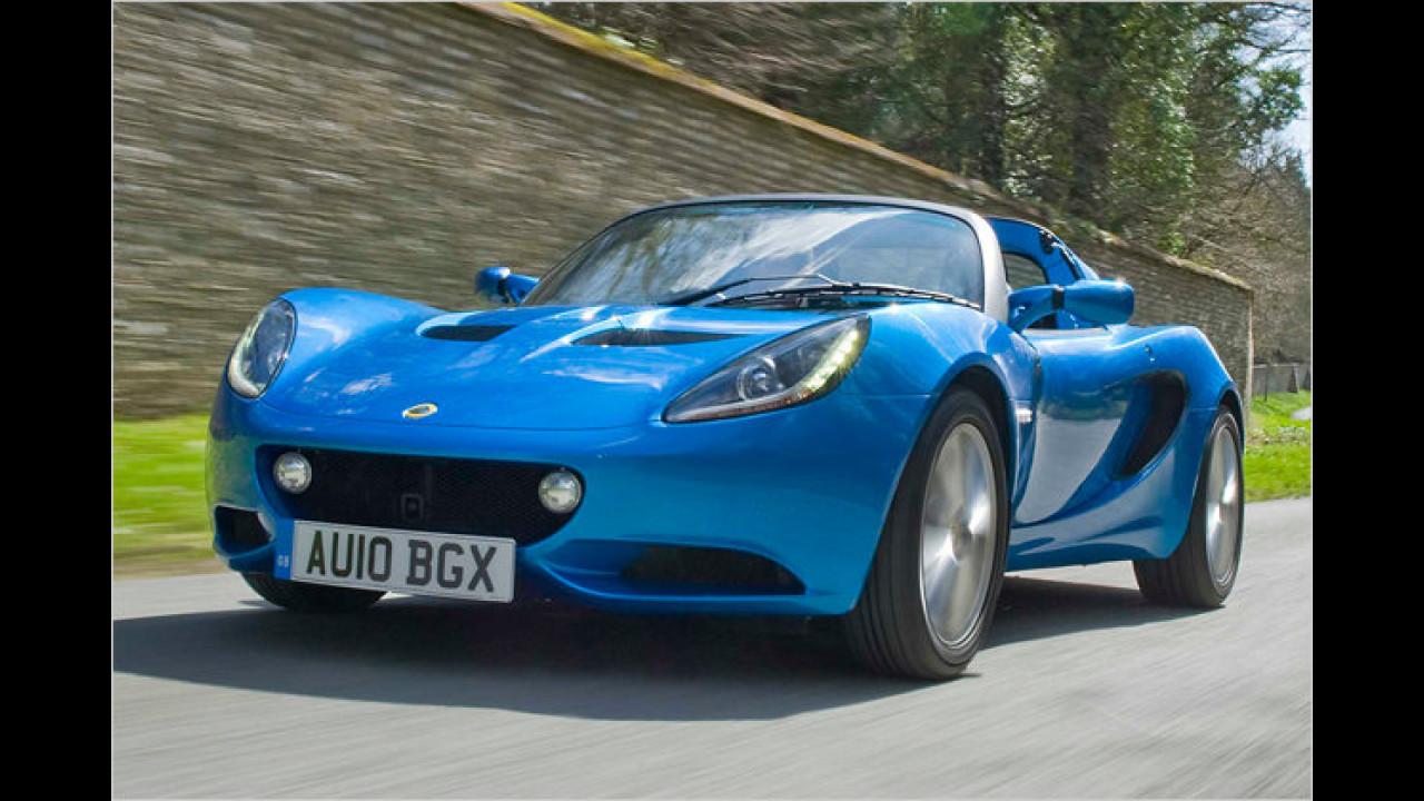 Das flachste Serienfahrzeug: Lotus Elise S