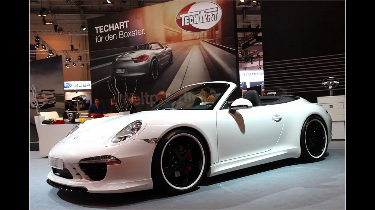 TechArt Porsche 911 Carrera S Cabriolet