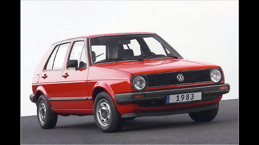 25 Jahre VW Golf II