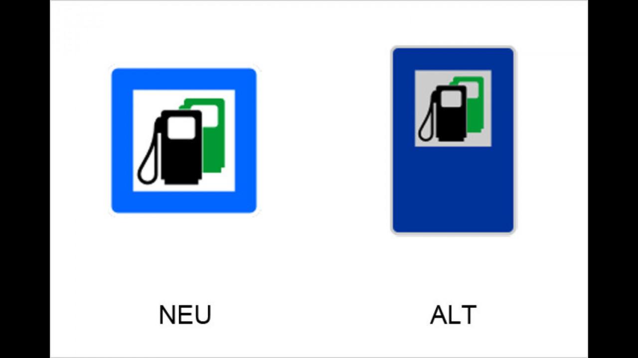 Tankstelle auch mit bleifreiem Benzin