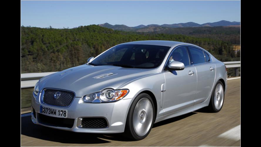 Jaguar XFR: Auch die Limousine darf es krachen lassen