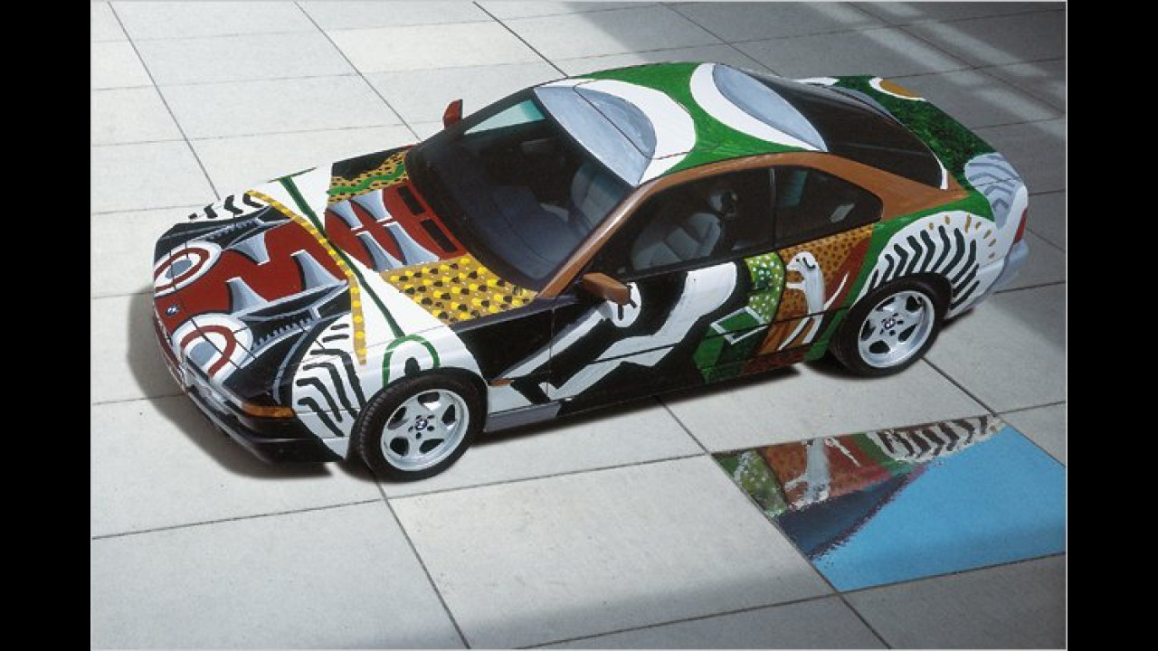 BMW 850 CSi: David Hockney (1995)