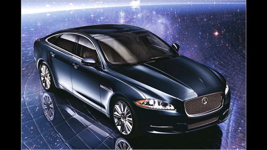Weihnachts-Miez: Jaguar XJL Neiman Marcus Edition
