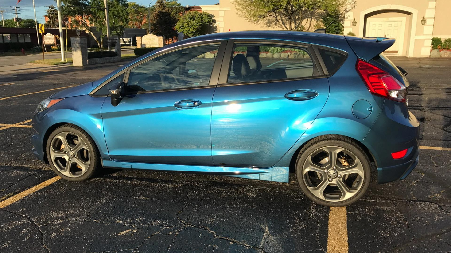 Now Is Your Chance To Own World S Only Liquid Blue Ford Fiesta St