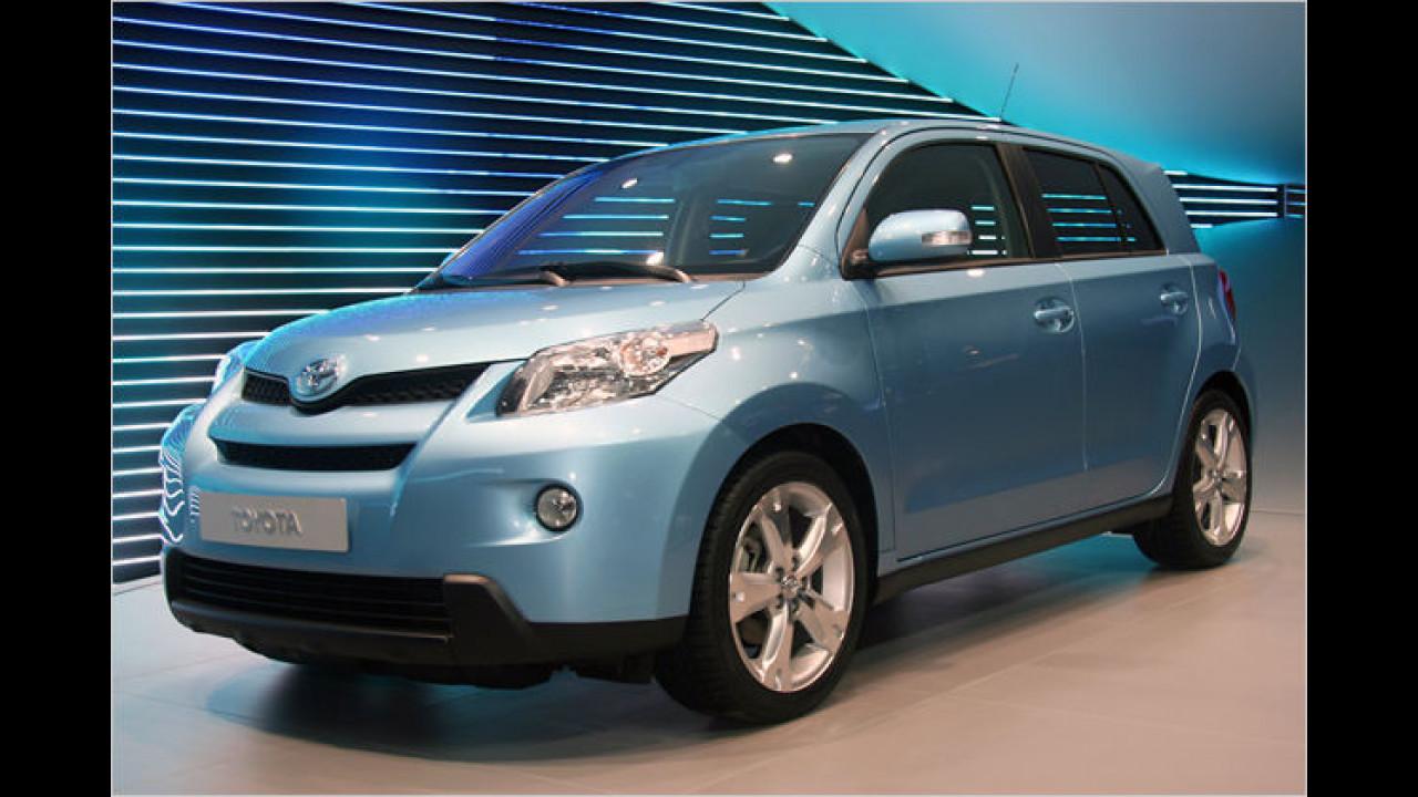 Toyota Urban Cruiser: Der kleine Bruder des RAV4 kommt mit Allradantrieb nach Genf
