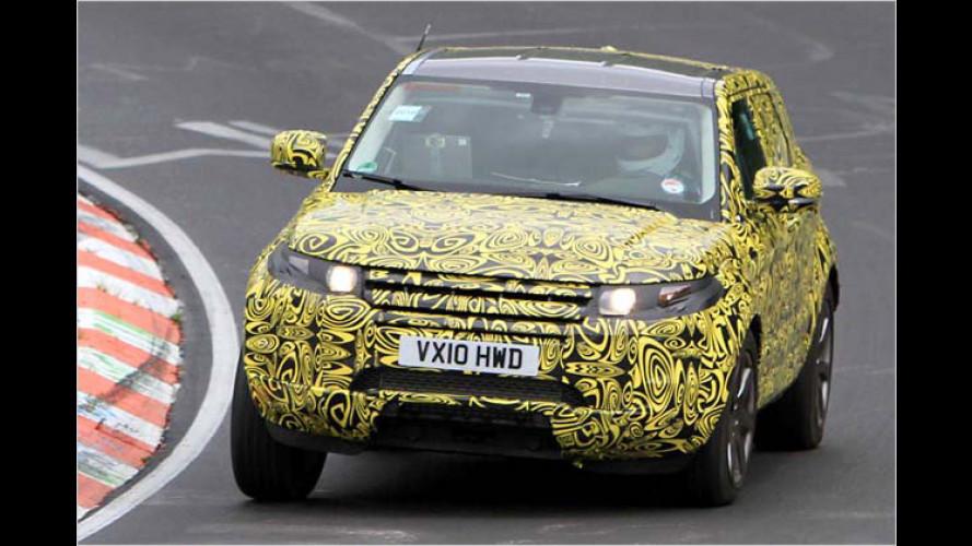 Erwischt: Hier fährt der fünftürige Range Rover Evoque