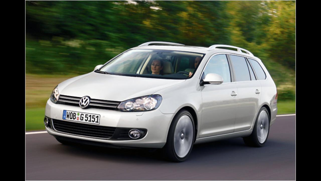 VW Golf Variant 1.6 TDI BlueMotion Technology Trendline DPF
