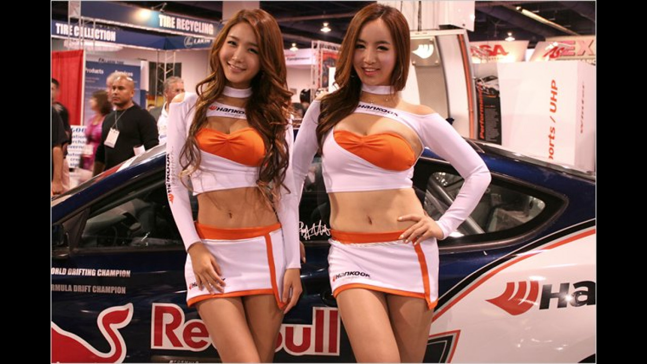 Kurz gesagt: Der Hankook-Stand gefällt uns