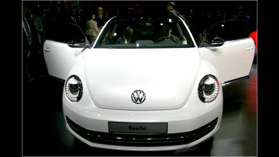VW-Beetle-Night in Shanghai