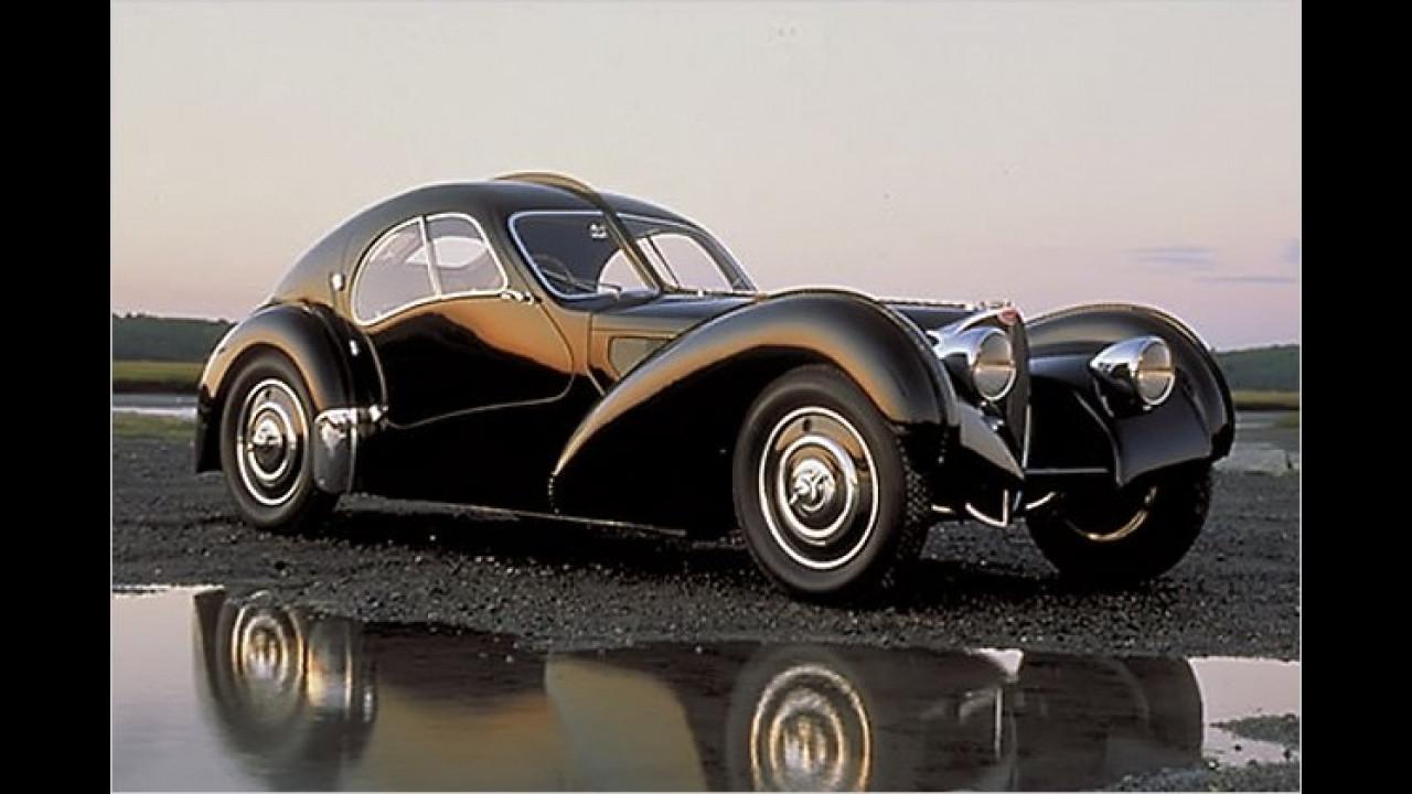 2. Platz: Bugatti 57 SC Atlantique Coupé