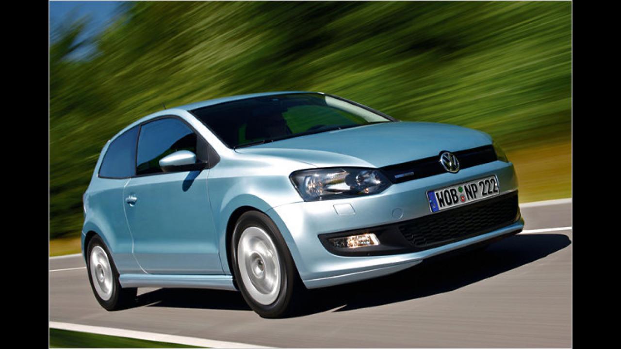 Kleinwagen: VW Polo 1.2 TDI BlueMotion 87g