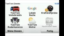 TomTom mit Live-Diensten
