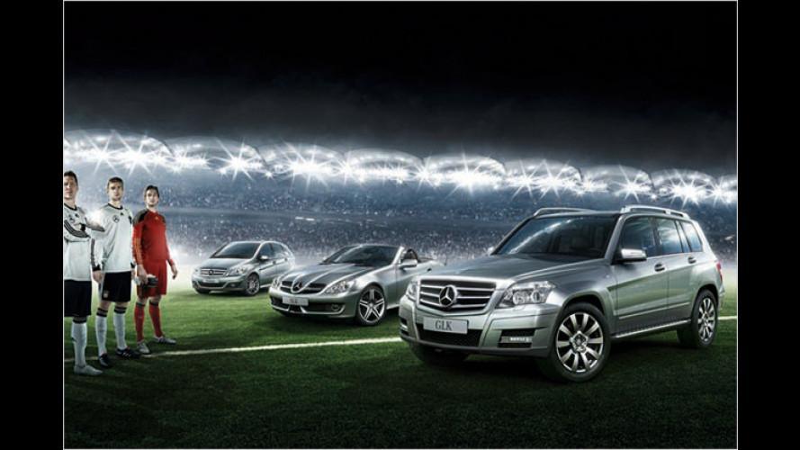 Mercedes: Kundenvorteile zur Fußball-WM