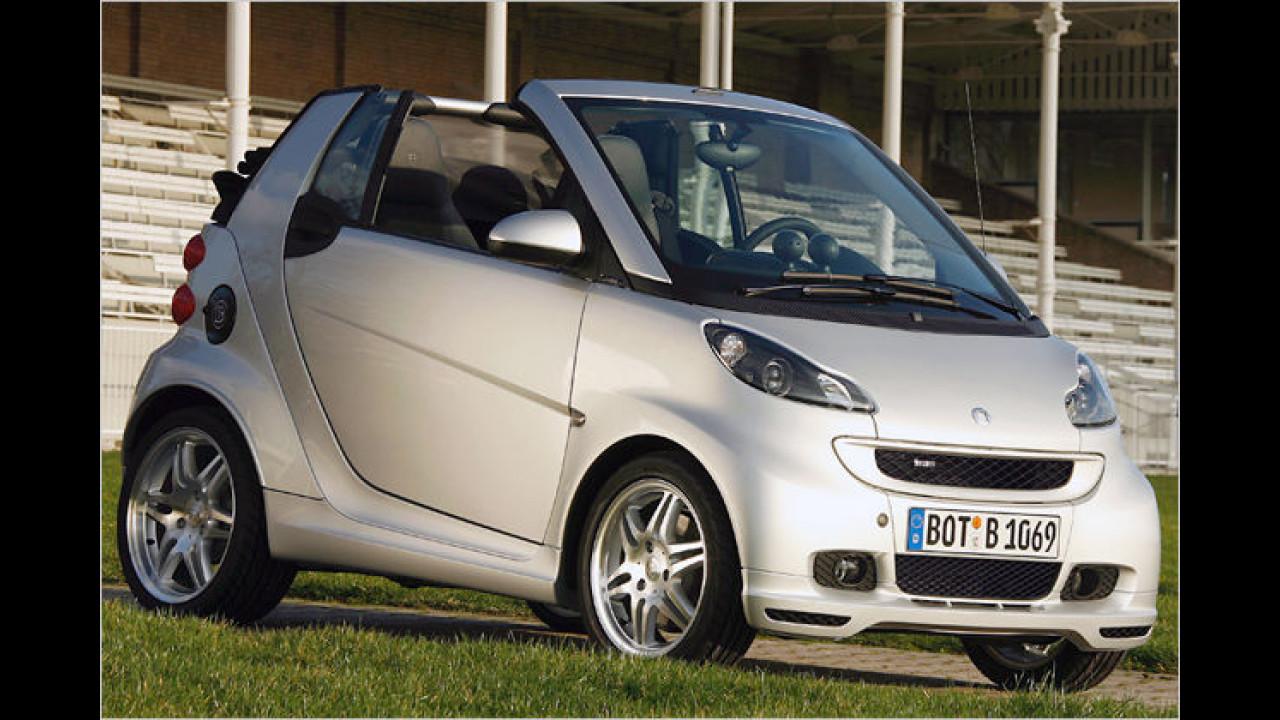 smart fortwo cabrio 1.0 turbo Brabus