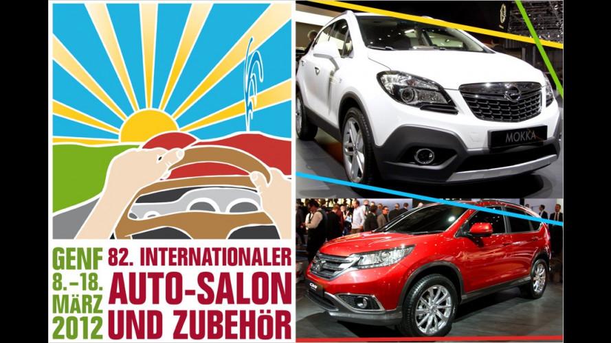 Genfer Autosalon 2012: Die SUV- und Crossover-Highlights