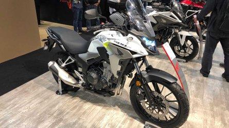 Salão de Milão: Honda CB500X ganha roda aro 19