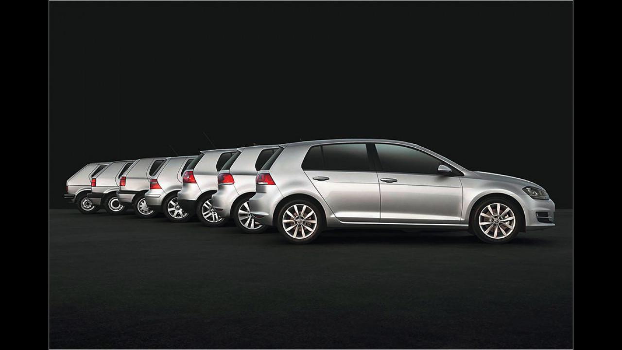 40 Jahre VW Golf