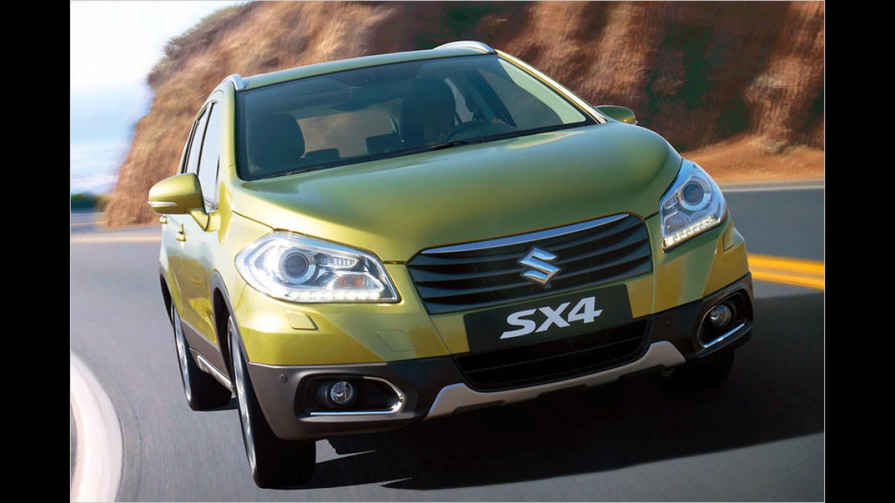 Flop: Suzuki SX4 S-Cross, Baujahr 2014, 154 Standtage