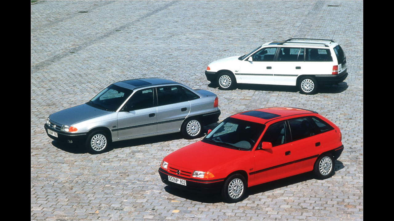 25 Jahre Opel Astra F