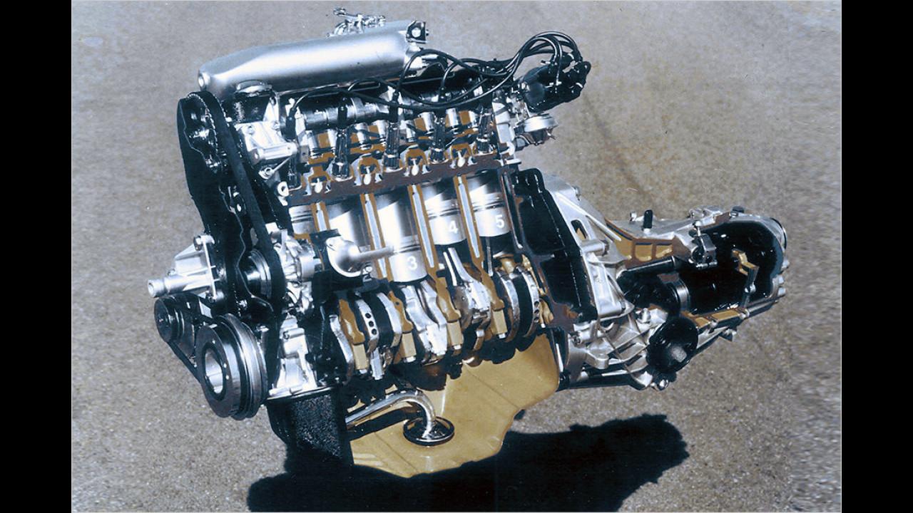 1976: Audi 100 (C2)