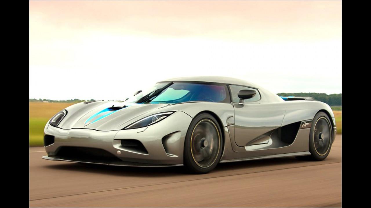 390 km/h: Koenigsegg Agera R