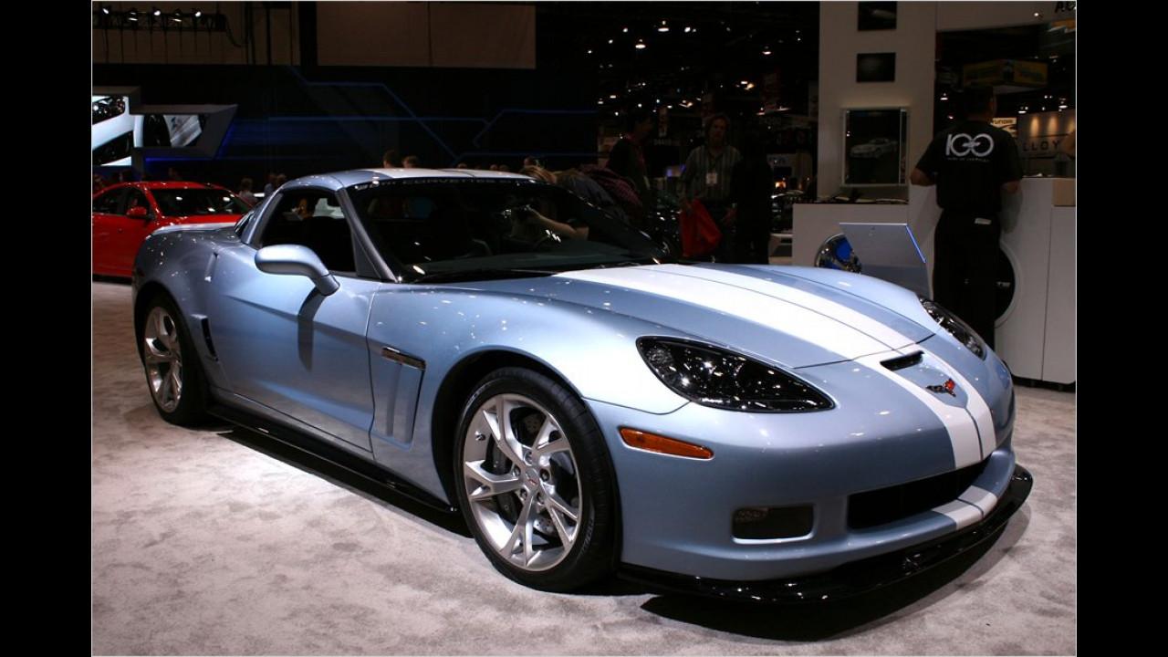 Chevrolet Corvette Carlisle Blue GS Concept