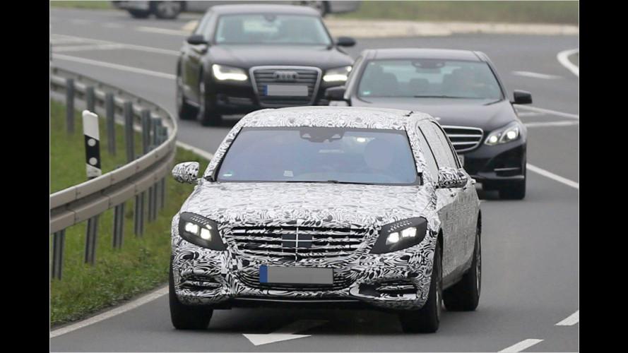 Erwischt: Mercedes S 600 Pullman