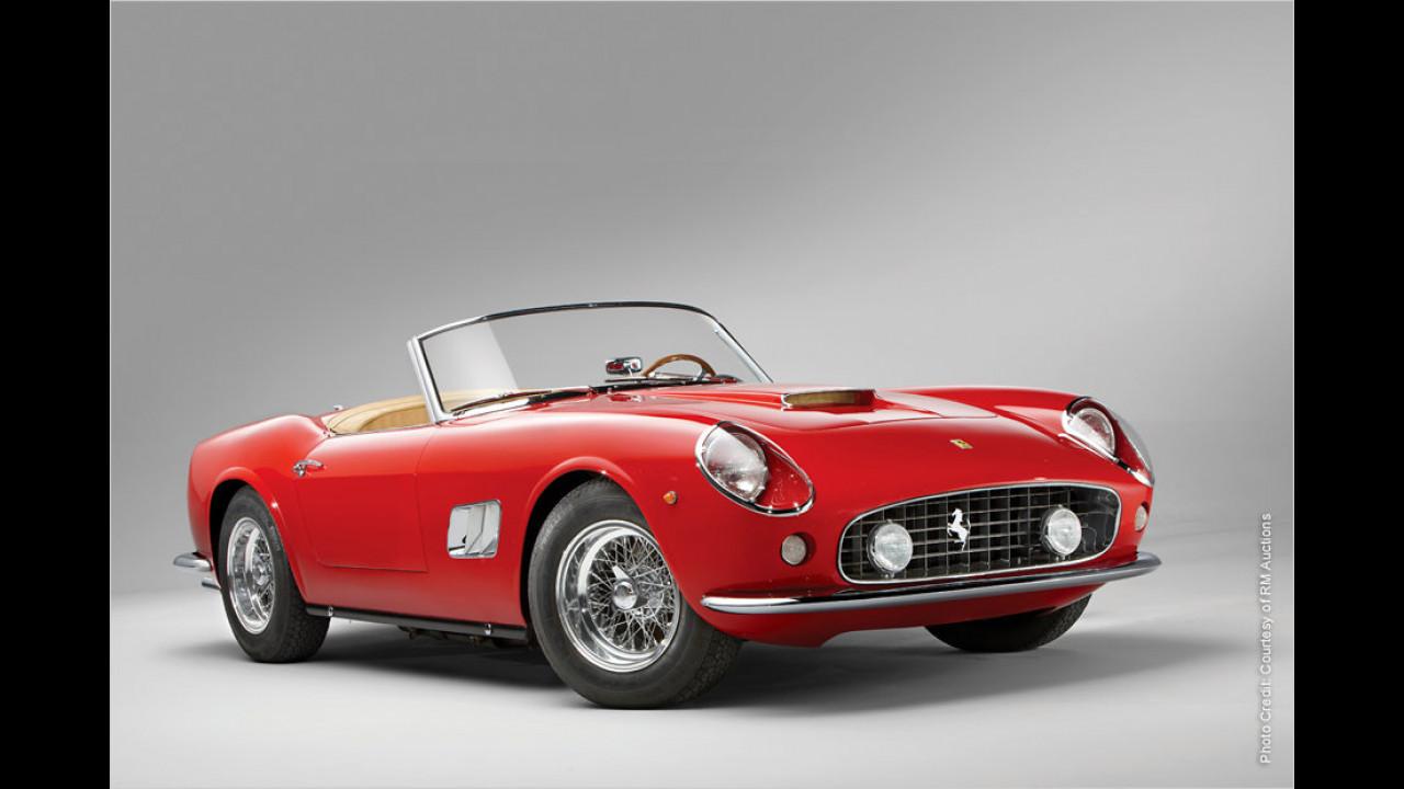 Platz 4: Ferrari 250 GT California Spider SWB, Baujahr 1962
