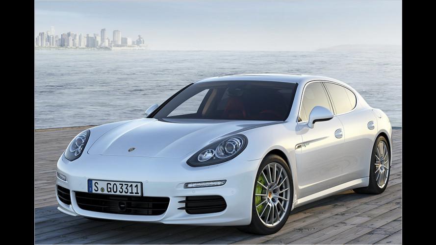 Porsche Panamera (2013) auch als Langversion und Plug-in-Hybrid