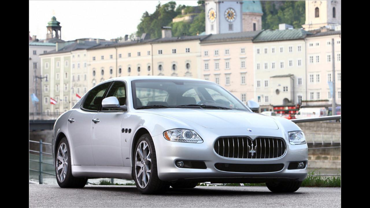 13 Exemplare: Maserati Quattroporte