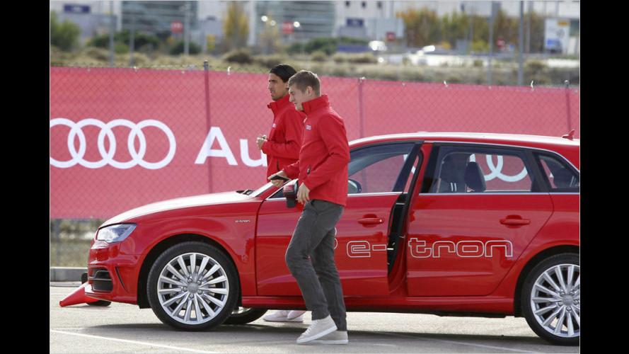Neue Audis für Messi und Co. (2014)