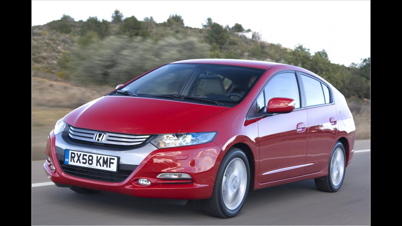 Kennen Sie den Insight? Das ist Hondas Hybridmodell. Nie gehört? So geht es mehr Leuten, nur 87 Stück wurden 2013 zugelassen