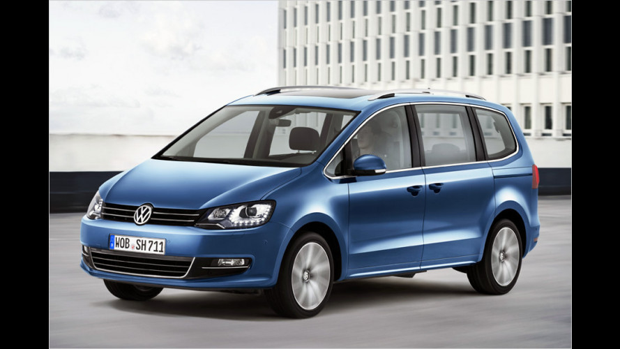 VW Sharan: Das kostet der Neue