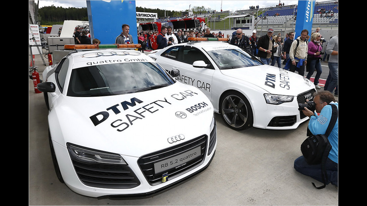 DTM: Audi R8 5.2 und RS 5 Coupé