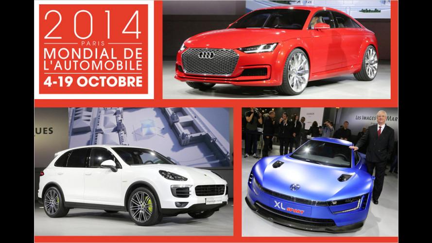 Die Neuheiten des VW-Konzerns auf dem Pariser Autosalon 2014