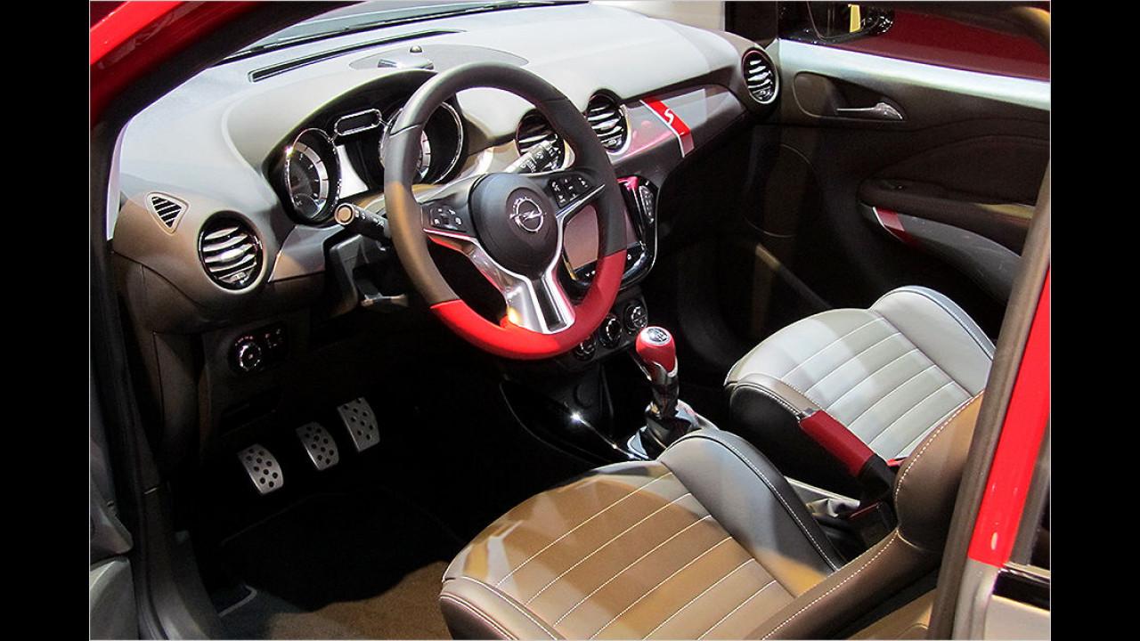 Sitzprobe Opel Adam S
