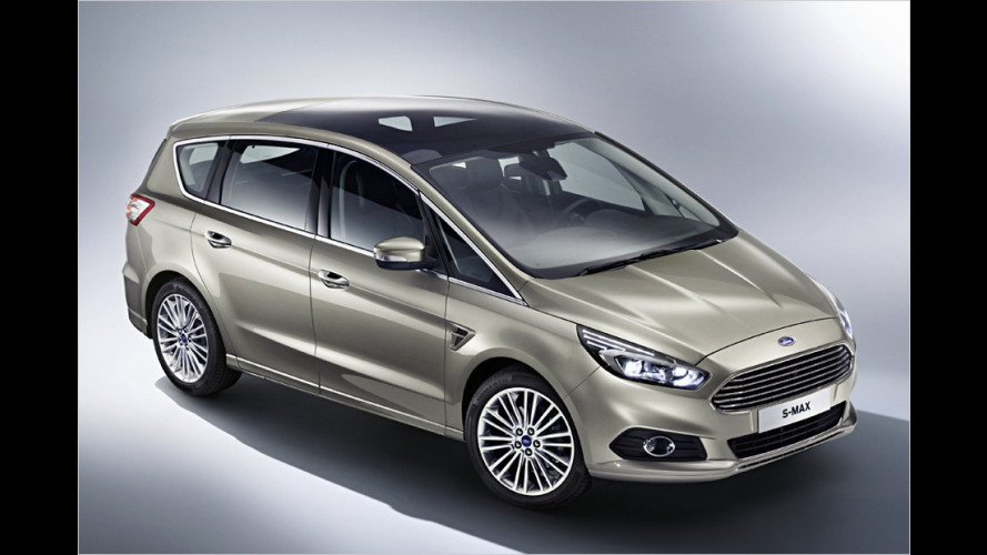 Ford S-Max (2015) in Paris vorgestellt