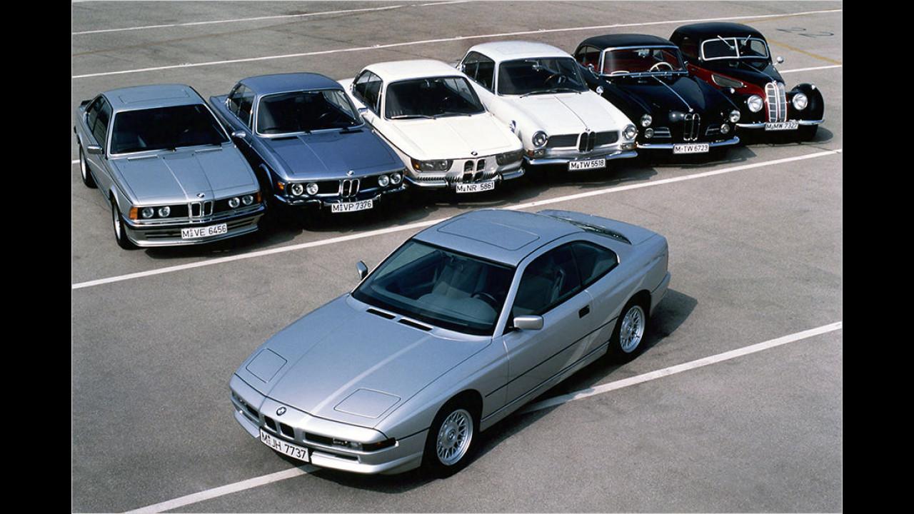 1989: BMW 8er-Reihe