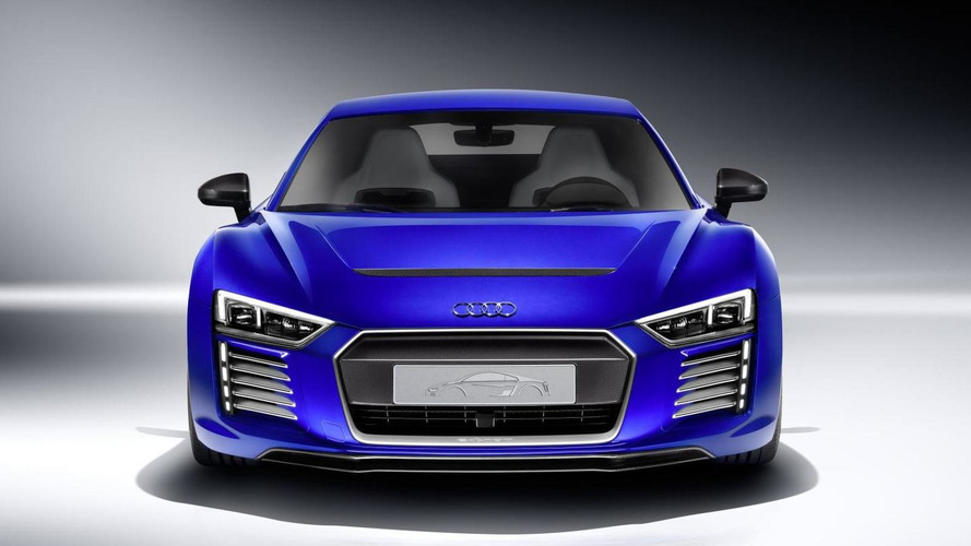 Audi R8 e-tron piloted driving concept revealed at CES Asia
