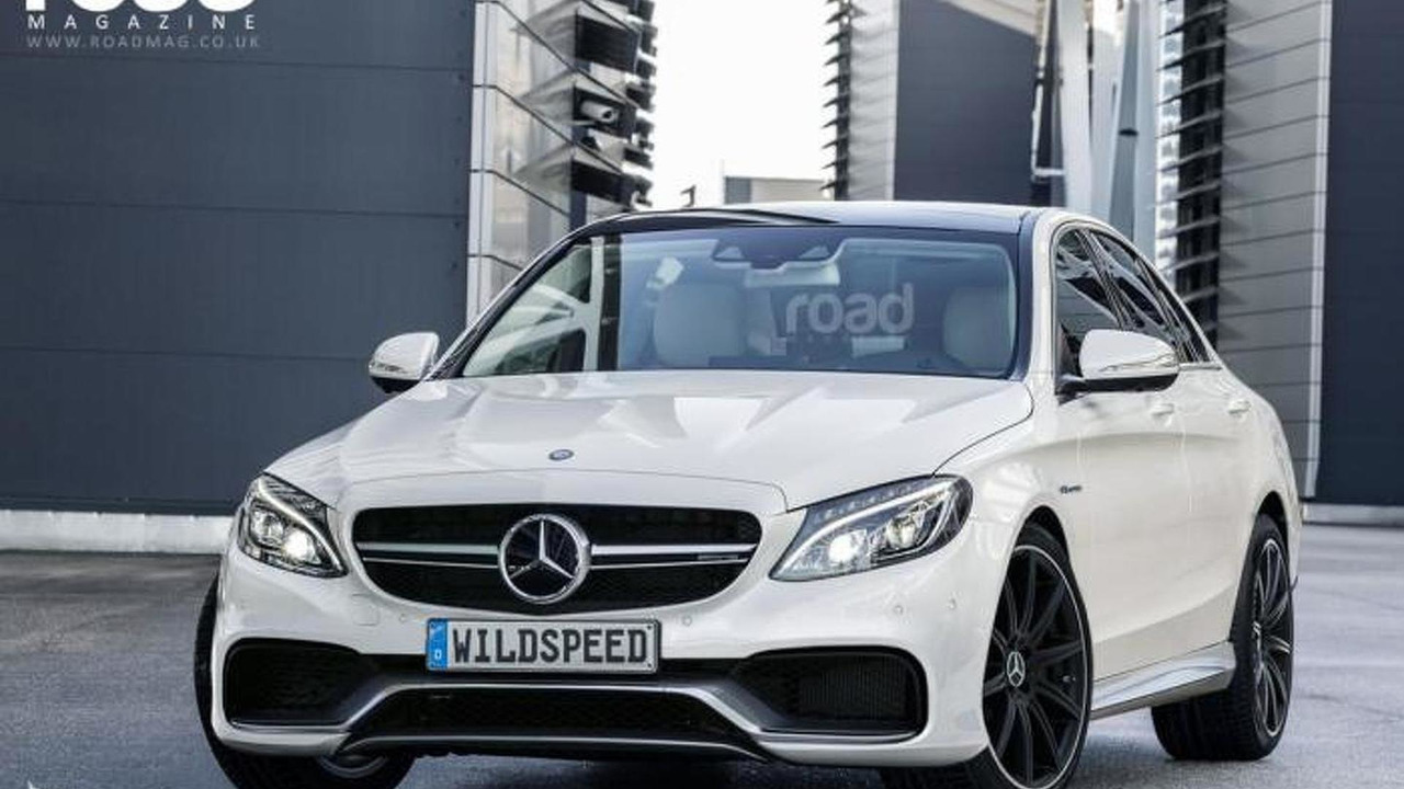 2015 Mercedes-Benz C63 AMG render
