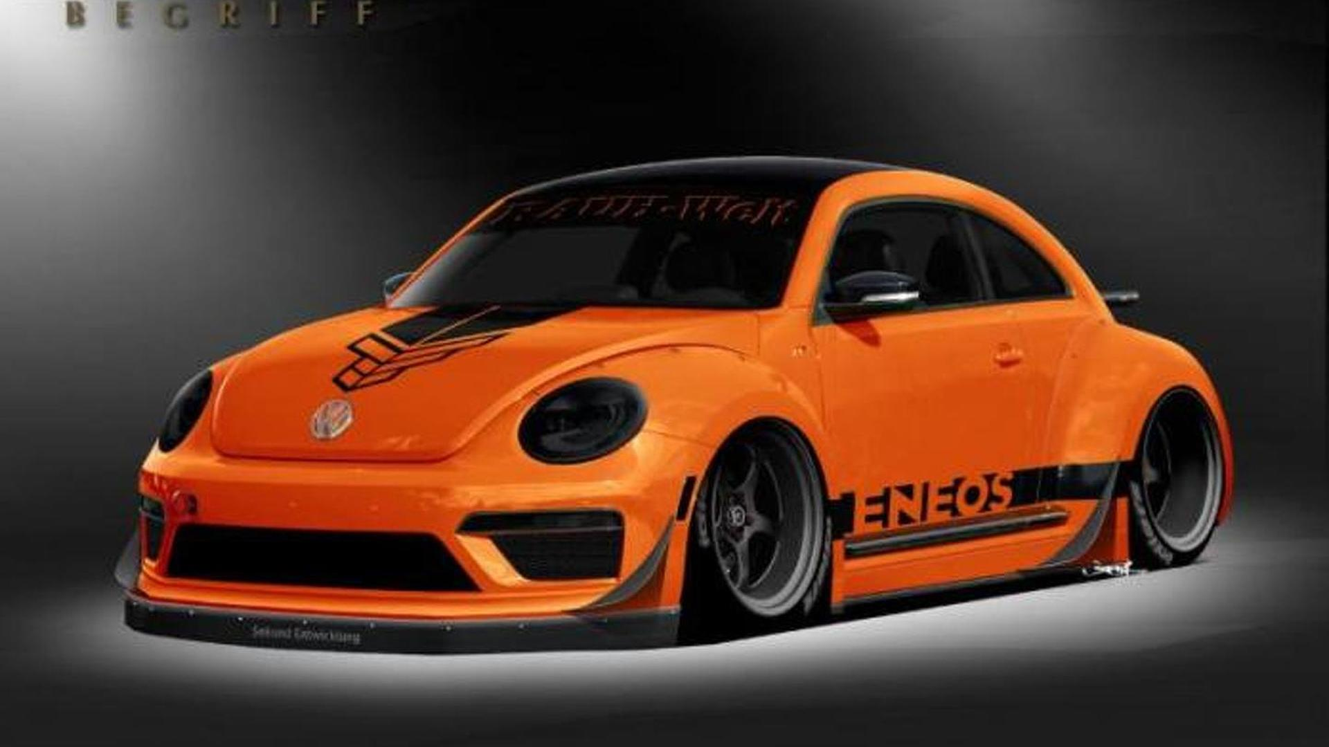 Tanner Foust Vw >> Customized Volkswagen Beetle Unveiled At Sema By Tanner
