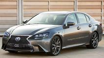Lexus GS facelift render