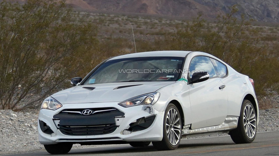 2016 Hyundai Genesis Coupe spy photo