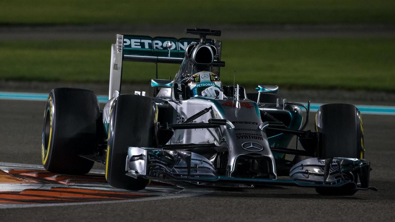 Mercedes AMG F1 W05 / XPB